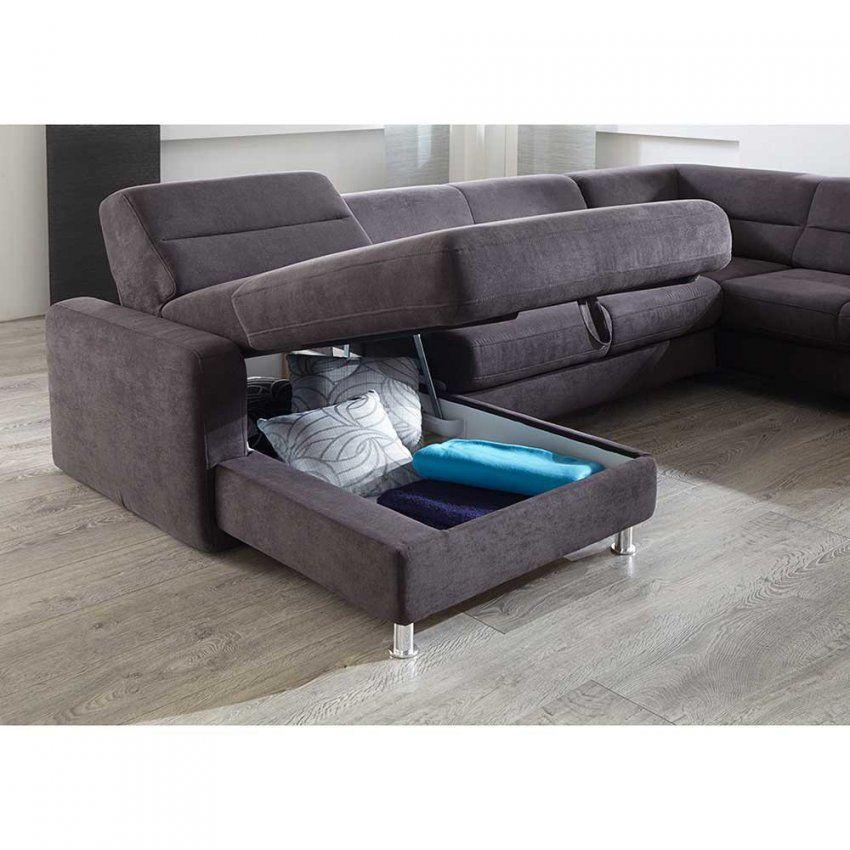 Couch U Form Schlaffunktion von Günstige Wohnlandschaft Mit Bettfunktion Bild