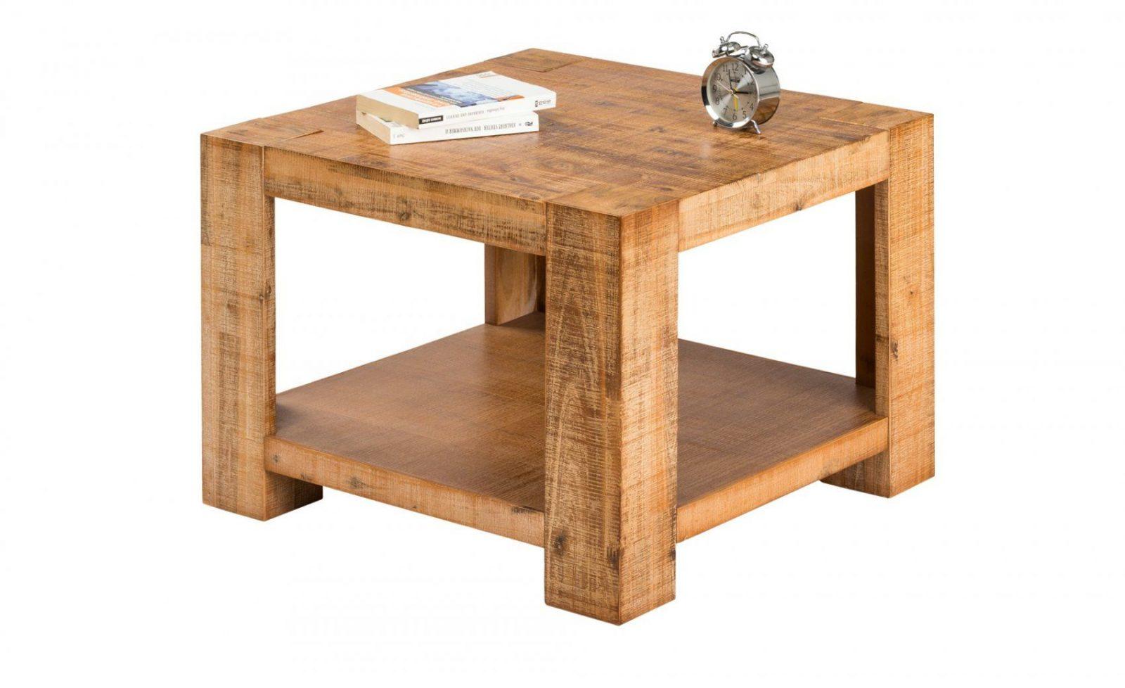 Couchtisch Akazienholz Massiv Tinetto  Möbel Höffner von Möbel Höffner Couchtisch Bild