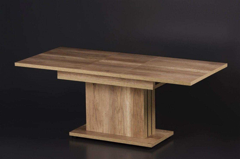 Couchtisch Ausziehbar Höhenverstellbar Wohnzimmertisch Tisch von Couchtisch Höhenverstellbar Ausziehbar Buche Bild
