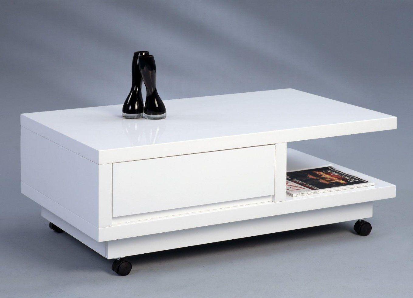 Couchtisch Beistelltisch  Wera  100X60 Cm Hochglanz Weiss  Kaufen von Couchtisch Weiß Hochglanz 60 X 60 Photo