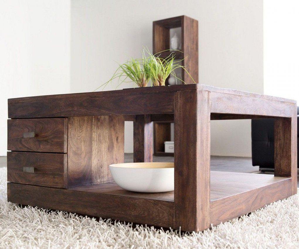 Couchtisch Guru 90X90 Akazie Tabak 2 Schübewolf Möbel Tische von Couchtisch Akazie Sand Photo