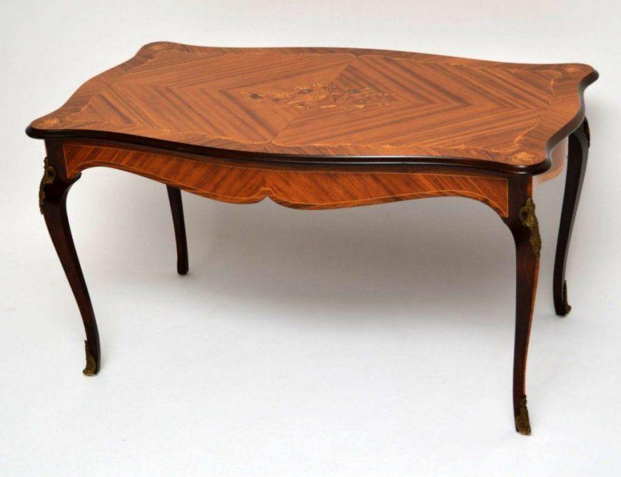 Couchtisch Nussbaum Antik Für Big Sofa Mit Rund Oval Quadratisch von Couchtisch Nussbaum Antik Bild
