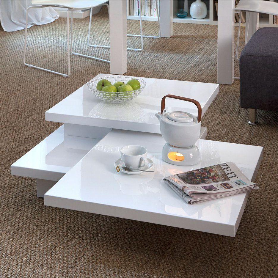 Couchtisch Perfect (Verstellbar)  Hochglanz Weiß  Home24 von Who's Perfect Couchtisch Photo