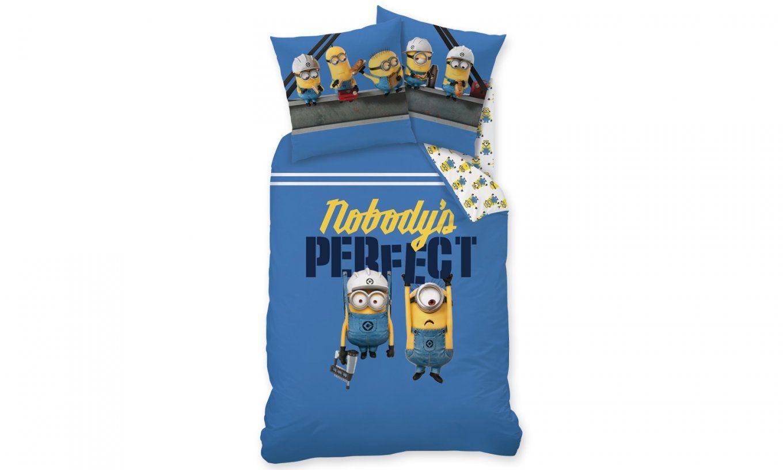 Cti Minions Perfect Baumwollbettwäsche  Perfektschlafen von Biber Bettwäsche Minions Bild