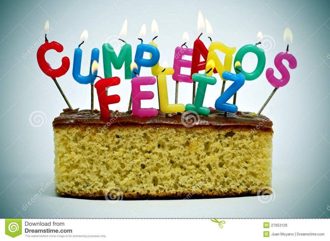 Cumpleanos Feliz Alles Gute Zum Geburtstag Auf Spanisch Stockfoto von Alles Gute Zum Geburtstag Auf Spanisch Photo