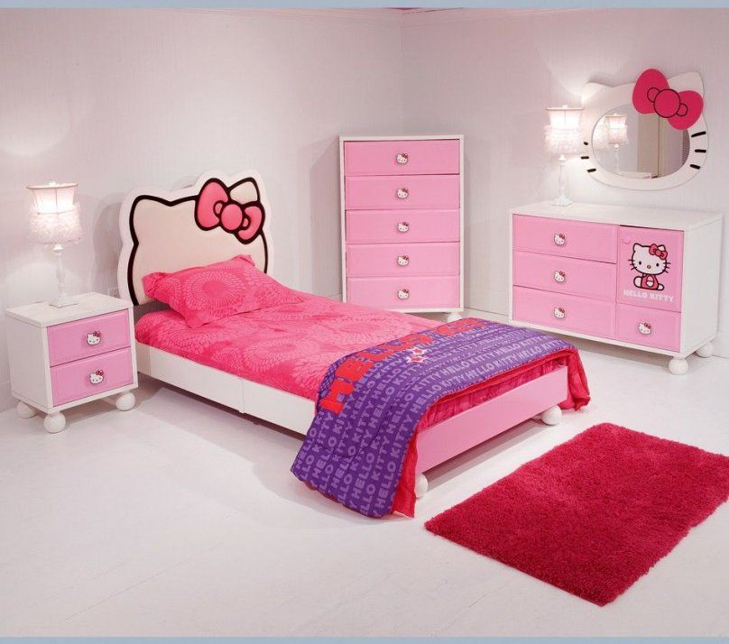Cuteness Hello Kitty Bed Room How Hard Would It Be To Diy The von Hello Kitty Bed Frame Photo