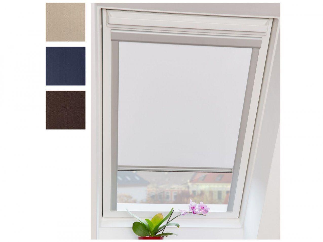 Dachfensterrollos  Lidl Deutschland  Lidl von Velux Dachfenster Plissee Ohne Bohren Bild