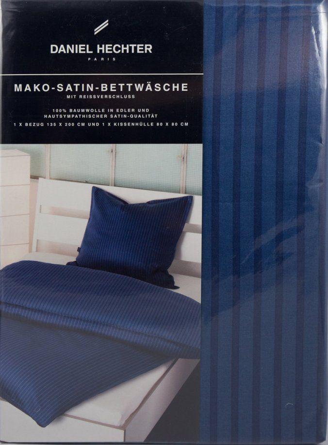 Daniel Hechter Makosatinbettwäsche  S&b Brands  Onlineshop von Daniel Hechter Bettwäsche Bild