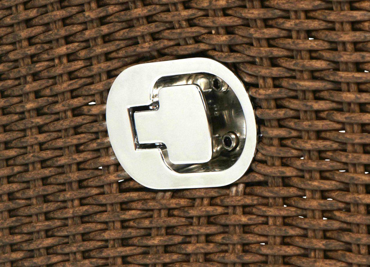 Dasversandhaus24  Rattan Sessel Verstellbar Inkl Sitzkissen von Rattansessel Mit Verstellbarer Rückenlehne Bild