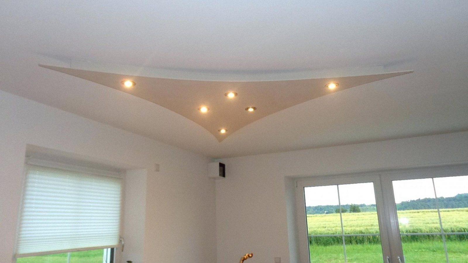 Decke Indirekte Beleuchtung Deckensegel Wind Led Selber Bauen von Indirekte Beleuchtung Selber Bauen Anleitung Bild