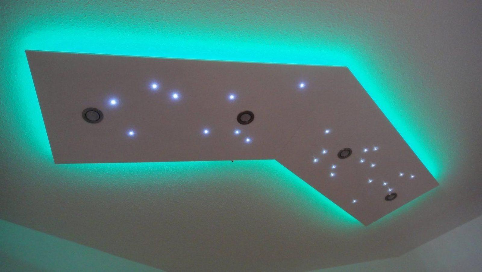 Deckenleuchte Selber Bauen  Direktes Und Indirektes Led Licht  Youtube von Led Lichtdecke Selber Bauen Bild
