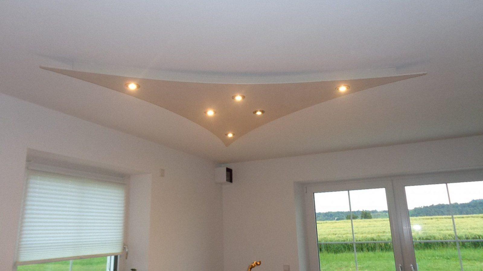 Deckensegel Wind Mit Indirekter Led Beleuchtung von Abgehängte Decke Beleuchtung Selber Bauen Photo
