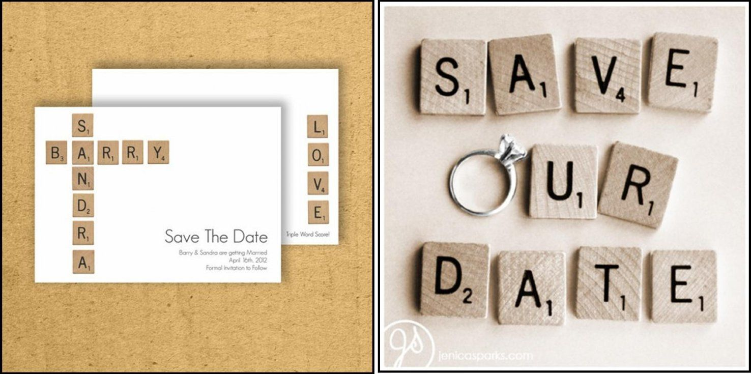 Decoratie  Wanna Be A Bride Trouwblog  Pagina 2 von Save The Date Originell Bild