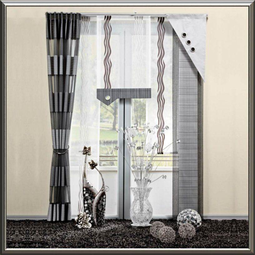 Deko Fenster Wohnzimmer von Gardinen Ideen Für Bodentiefe Fenster Bild