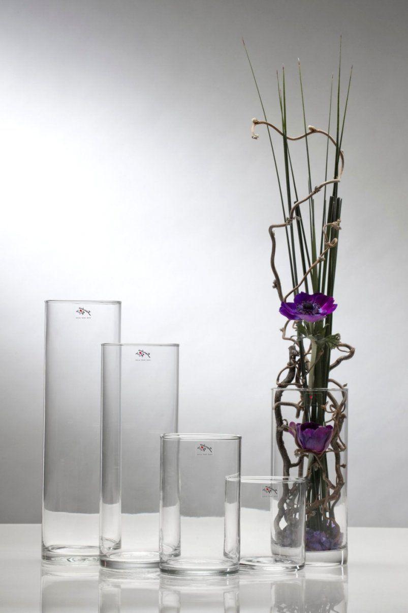 Deko Für Hohe Glasvasen Wohndesign Avec Deko Für Hohe Glasvasen Et von Hohe Glasvase Dekorieren Ideen Photo