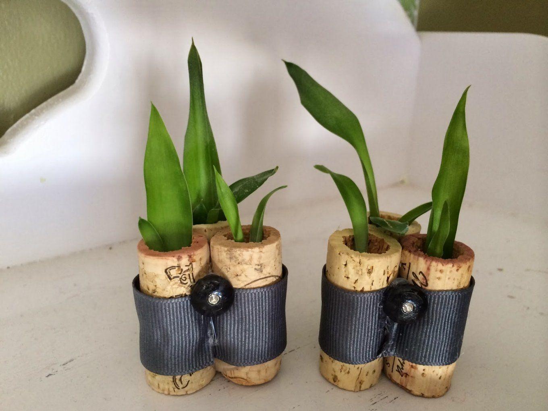 Deko Selber Machenkorken Planters  Freshouse von Deko Für Wohnzimmer Selber Machen Photo