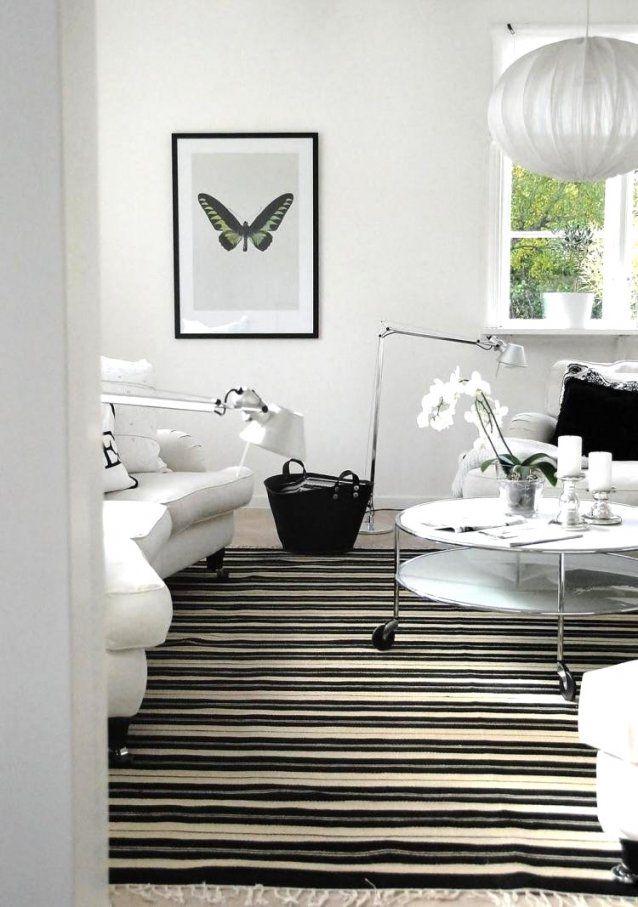 Deko Wohnzimmer Schwarz Weiß Tropfen Tot Gorgeous Weis Weia Blau In von Deko Ideen Schwarz Weiß Bild
