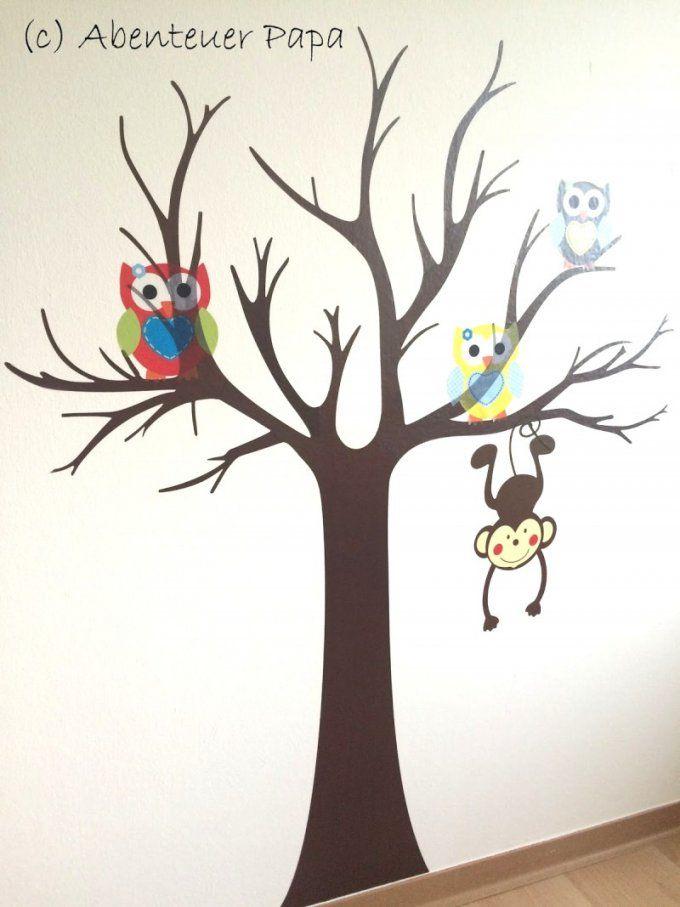 Dekoration Leicht Gemacht  Dishy Baum Vorlage Fur Wand Eine A Baum von Vorlage Baum Für Wand Photo