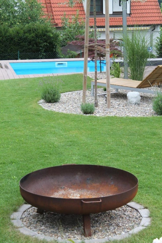 Dekorationen Erstaunlich Feuerstelle Im Garten Phantasievolle von Feuerstelle Im Garten Anlegen Photo