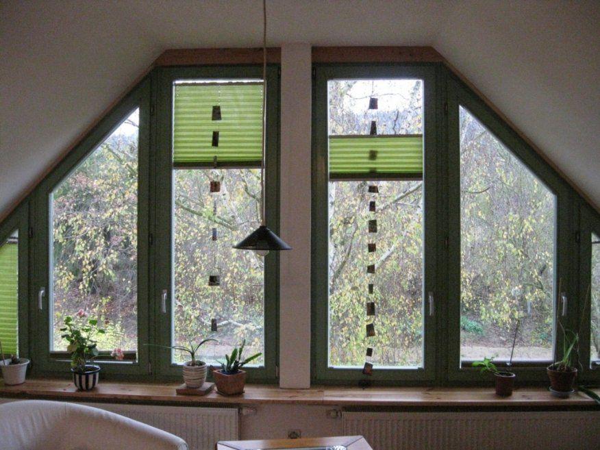 Dekorationen Spannende Gardinen Für Dreiecksfenster Schrge Fenster von Gardinen Für Dreiecksfenster Selber Nähen Bild