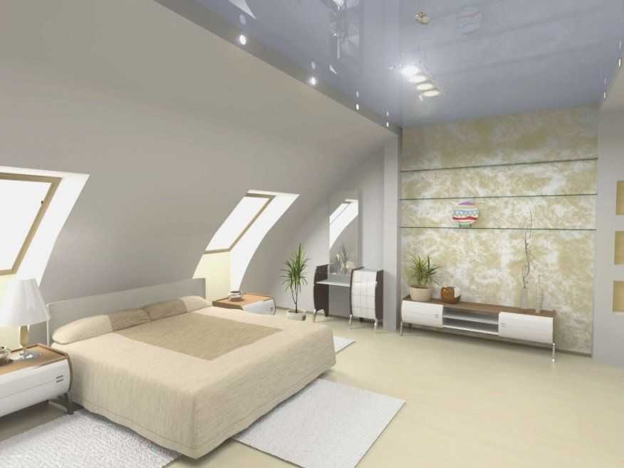 Dekorationen Stilvolle Schlafzimmer Ideen Dachschräge Das Neu von ...