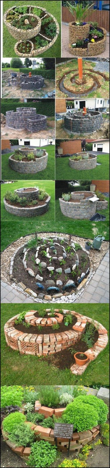 Den Garten Individuell Gestalten Kräutergarten Anlegen Anleitung von Naturgarten Anlegen Bepflanzen Gestalten Bild
