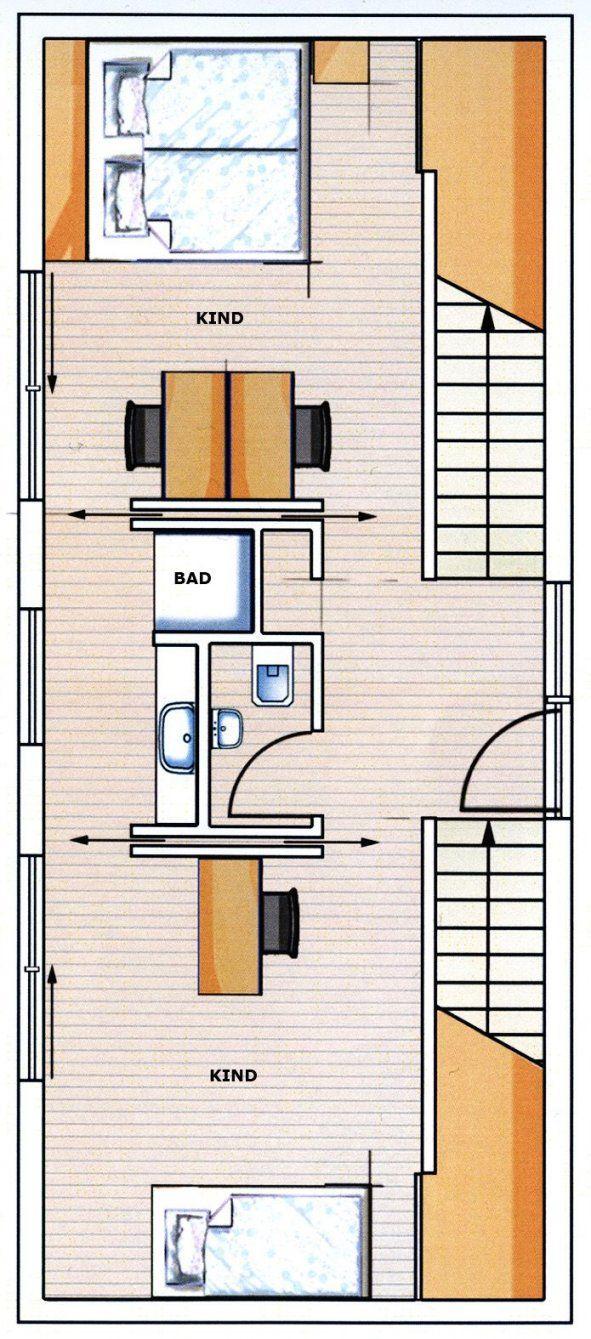 Denn Nach Zähen Verhandlungen Mit Dem Bauamt Bekam Er 5M Baubreite von Langes Schmales Haus Grundriss Bild