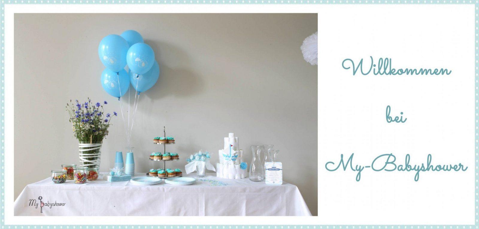 Der Onlineshop Für Babyparty Dekoration Cupcake Zubehör von Babyparty Deko Set Junge Photo
