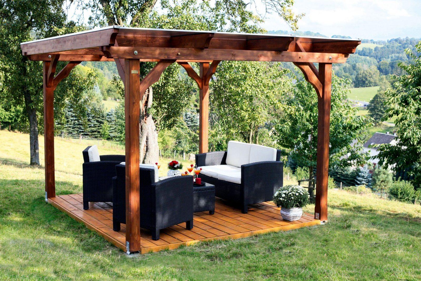 Der Skan Holz Pavillon Marseille Ist Die Perfekte Wahl Für Ihren von Holz Pavillon Bausatz Günstig Bild
