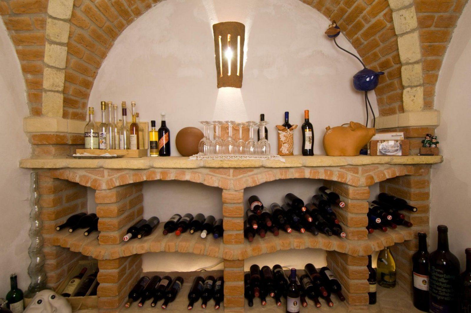 Der Ziegel Als Persönliche Visitenkarte von Weinkeller Bauen Selber Machen Bild