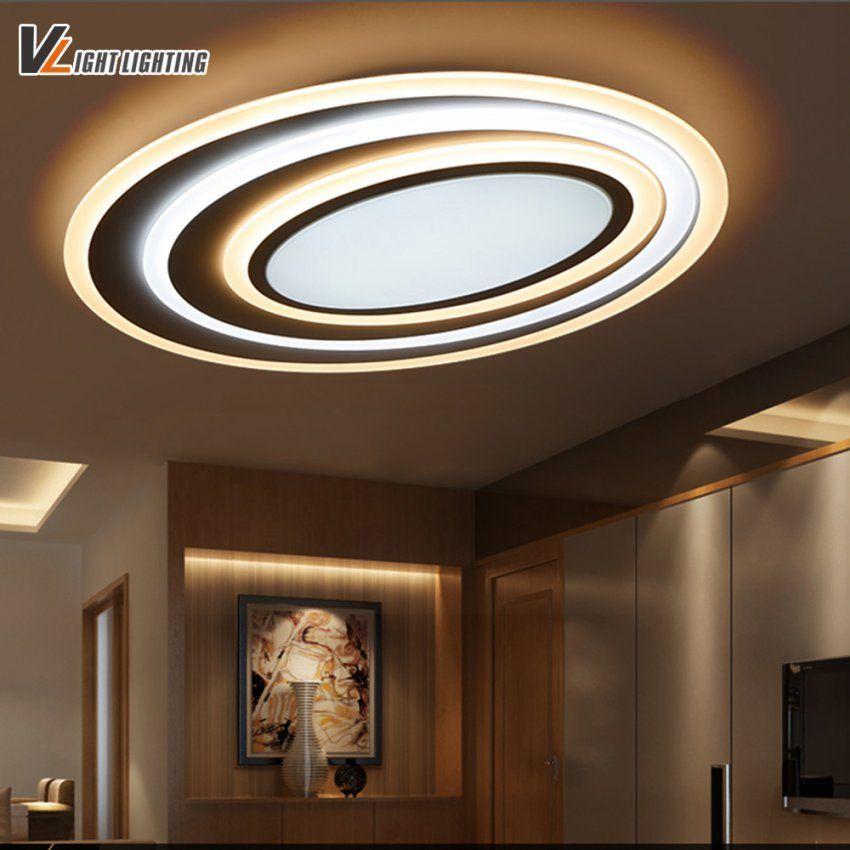 Design Deckenleuchten Wohnzimmer Spektakuläre Bild Der Led Moderne ...