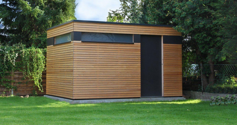 Design Gartenhaus Moderne Gartenhäuser Schicke Gartensauna Auch von Moderne Gartenhäuser Aus Holz Bild