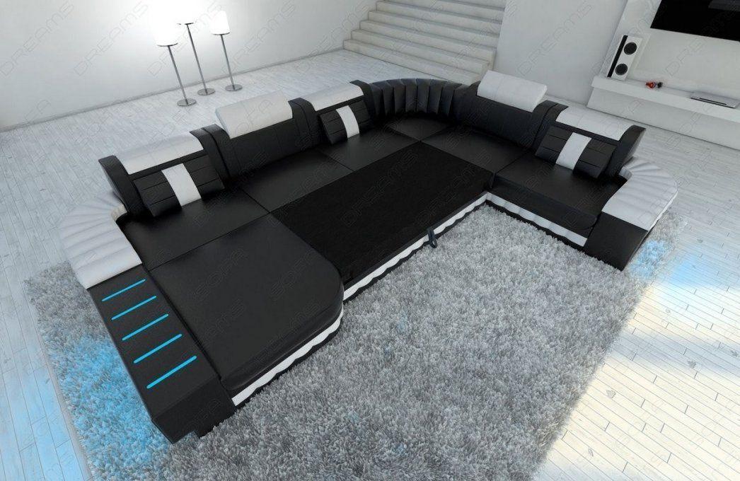 Design Wohnlandschaft Bellagio Xxl Mit Récamière Und Led Licht von Günstige Wohnlandschaft Mit Bettfunktion Bild