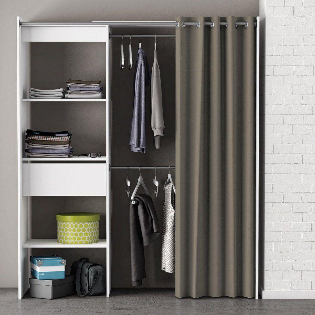 Details Zu Kleiderschrank Garderobe Chicago Regal Schrank Perle Weiß von Pax Kleiderschrank Mit Vorhang Bild