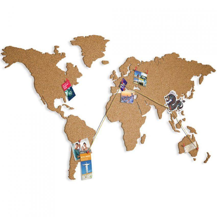 Details Zu Weltkarte Pinnwand Kork Landkarte Korktafel Xxl Memoboard von Weltkarte Kork Selber Machen Photo