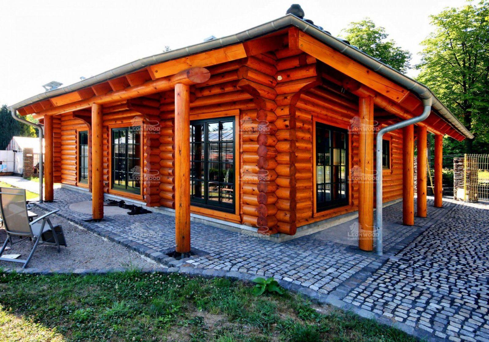 Detailseite Blockhaus  Léonwood von Haus In Alaska Kaufen Photo