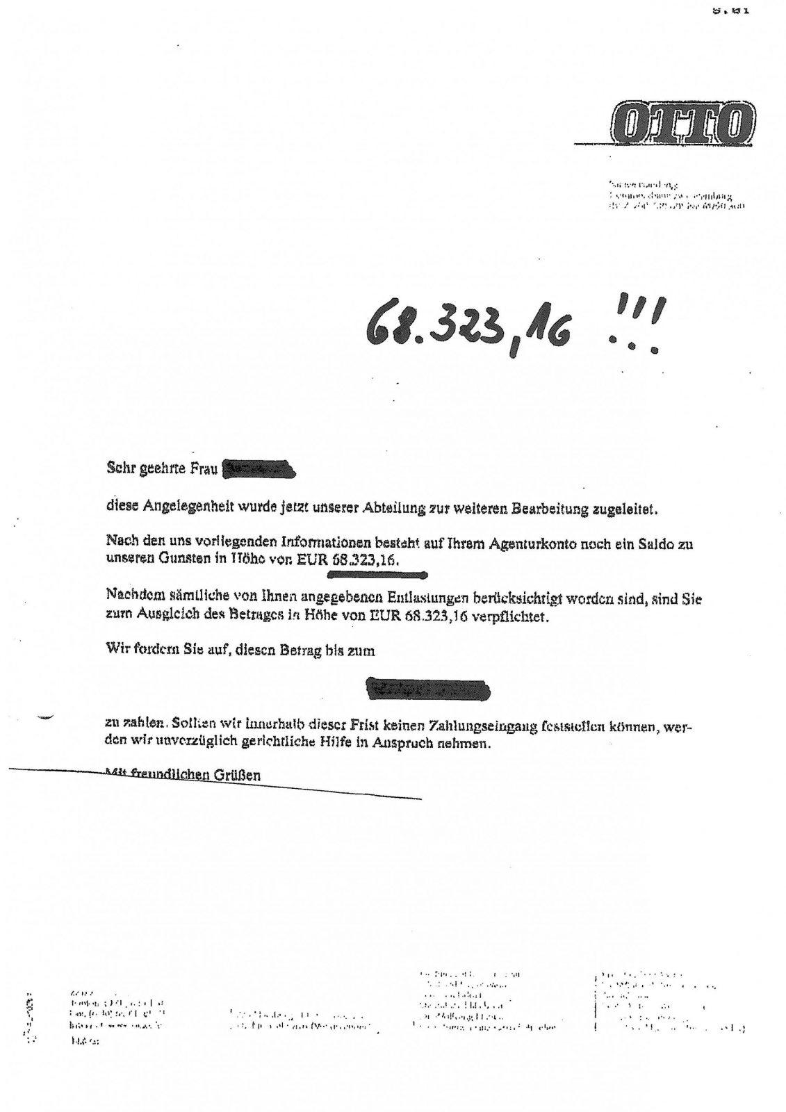 Deutscher Inkassodienst Otto  Ottoshopgeschädigte Info Zum von Deutscher Inkasso Dienst Otto Photo