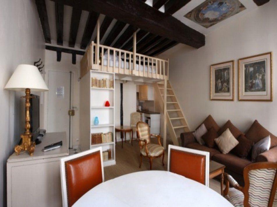 Die Kleine Wohnung Einrichten Mit Hochhbett  Freshouse von 1 Raum Wohnung Einrichten Photo