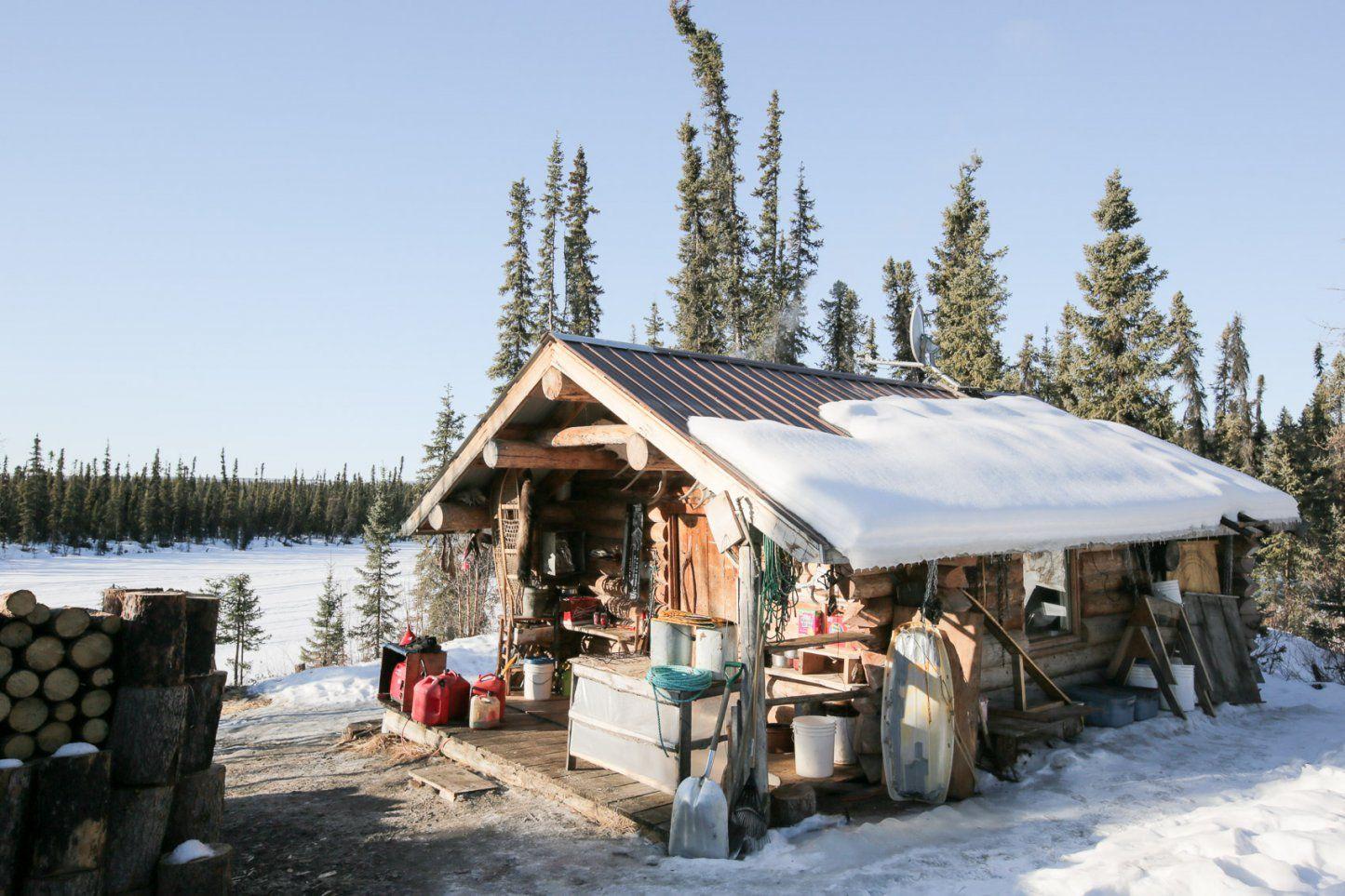 Die Letzten Trapper Von Alaska – Weltseher von Haus In Alaska Kaufen Bild