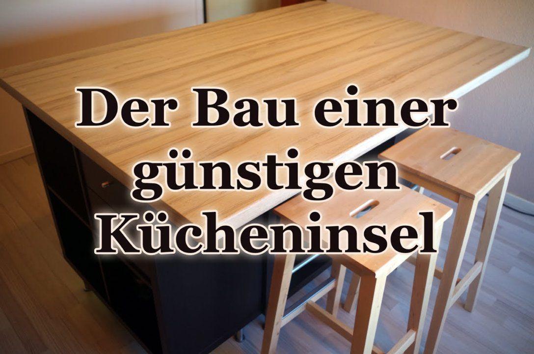 Die Perfekte Rohkostküche  Eine Kücheninsel Für 350 Euro Selber von Kücheninsel Selber Bauen Ikea Bild