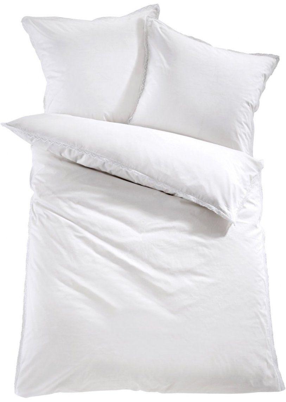 """Die Romantische Bettwäsche """"spitze"""" Lädt Zum Träumen Ein  Weiß von Bettwäsche Mit Spitze Bild"""
