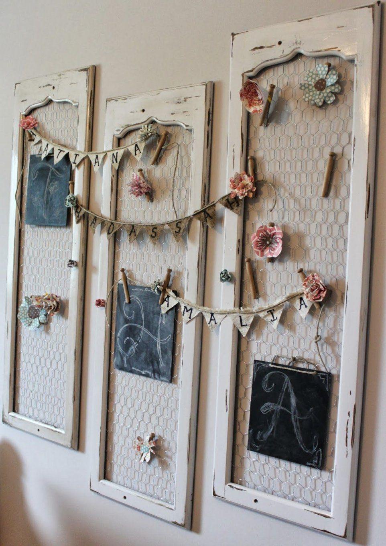 Die Schönsten 50 Dekoideen Für Gemütliches Zuhause  Dekoration von Shabby Chic Deko Ideen Selbermachen Bild