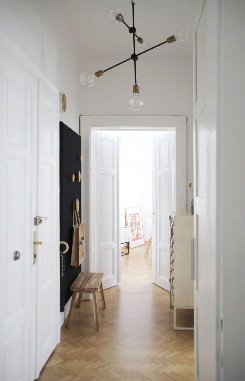 Die Schönsten Ideen Für Deinen Flur von Wandgestaltung Flur Mit Treppe Bild