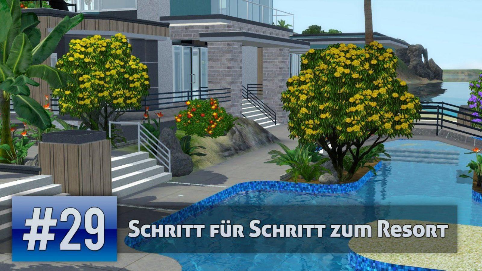 Die Sims 3  Schritt Für Schritt Zum Resort 29 (Lets Build)  Youtube von Sims 3 Haus Bauen Schritt Für Schritt Photo