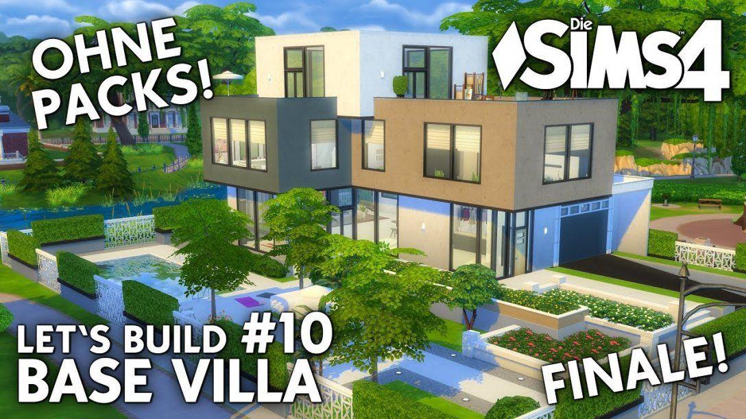 Die Sims 4 Haus Bauen Ohne Packs Base Villa 10 Finale Details Avec von Sims 4 Haus Bauen Bild