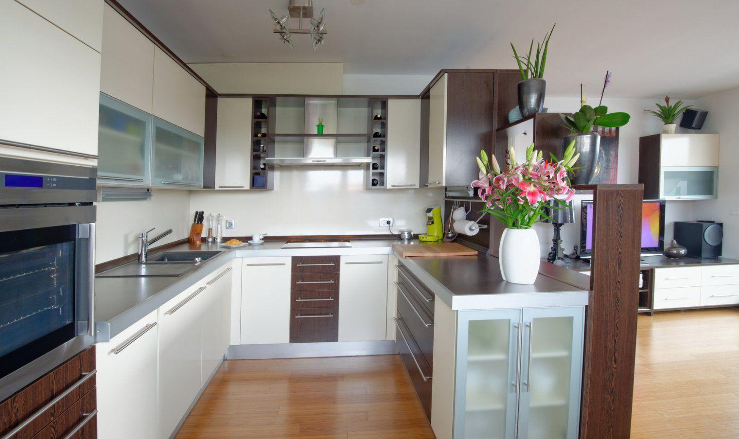 Die Uform Küche  Klassische Küchenform Mit Modernem Stil von Küchen In U Form Günstig Photo