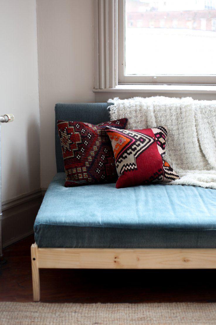 Diewohngalerie Wie Aus Einem Ikea Bett Leicht Ein Sofa Wird von Kinderbett Mit Gästebett Ikea Bild