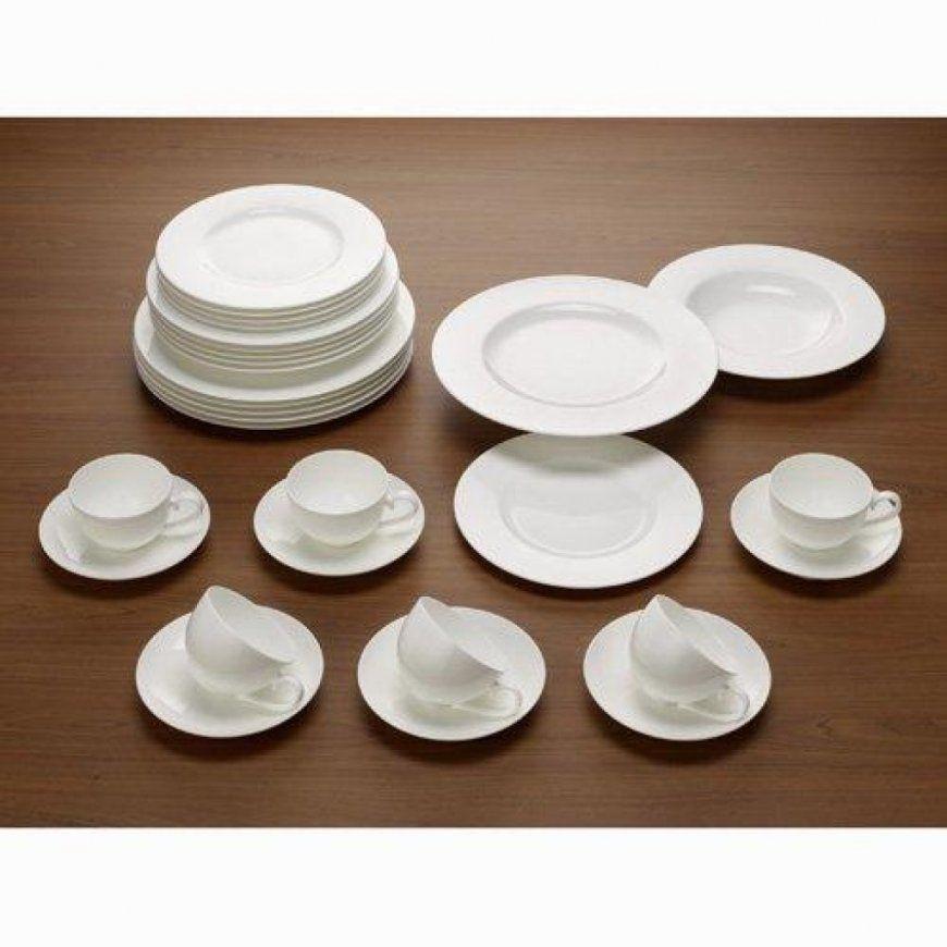 Dinnerware Villeroy & Boch Cellini 50Piece Dinnerware Set von Villeroy & Boch Royal Basic Set 30 Teilig Bild