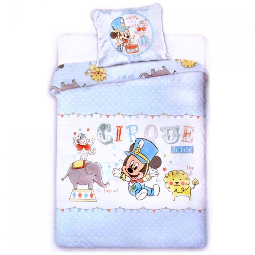 Disney Baby Kinderbettwäsche Mickey Maus Bettbezug + Kissen 100X135 von Baby Bettwäsche Disney Bild