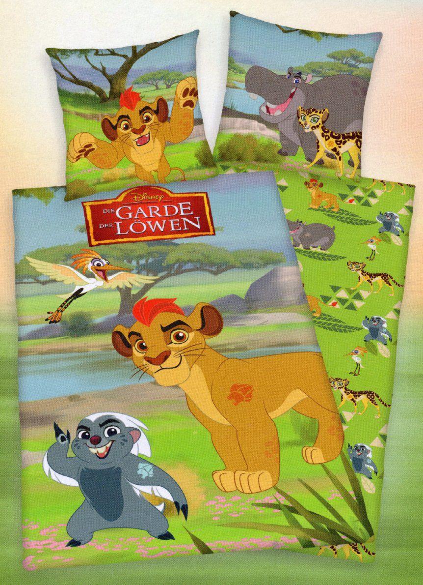 Disney Bettwäsche Garde Der Löwen  135 X 200Cm + 80 X 80Cm von Garde Der Löwen Bettwäsche Photo
